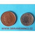Anglie 1 penny Elizabeth II. 1998 - Cu a 5 pence 2001