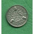 Anglie 3 pence Georgius V. 1932 C - Ag