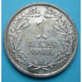 Výmar - 1 reichsmark 1926 A - Ag