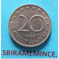 Bulharsko - 20 stotinky 1999