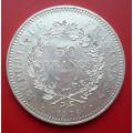 Francie 50 francs 1978 - Ag