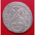 Leopold I. grešle 1703 mincovna Opolí - Ag