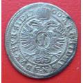 Leopold I. 1 kretzer  1700 FN - Opolí F.Nowak - Ag