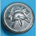 Hasič - velký knoflík do roku 1948 - průměr 24 mm , stříbrný
