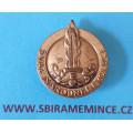 Odznak do knoflíkové dírky SVAZ NÁRODNÍ REVOLUCE