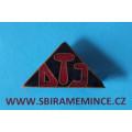 Odznak DTJ - Dělnická tělovýchovná jednota -smalt