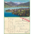 Zell am See - razítko K.u.K. Militärzensur - prošlá 1916