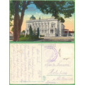Belgrád - Konakparkpartie - vojenské razítko - prošlá1916