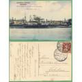 Komárno - LODĚ a zimní přístav  - prošlá 1919