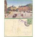 Ljubljana - Laibach - KOČÁRY - prošlá 1916