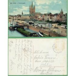 Kolín nad Rýnem Frankenwerf. - LODĚ - prošlá 1911