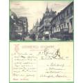Moscou Rue Tverskaia - KOČÁRY - prošlá 1919
