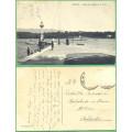 Ženeva-  PARNÍK - prošlá před 1918