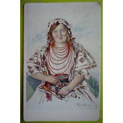 Z. Dědina - kroj - prošlá 1913