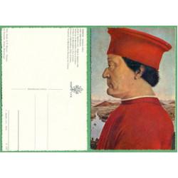 Vévoda z Urbina - Piero della Francesca - Galleria Uffizi - čistá