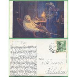 Jos. Mandl - Bída - prošlá do r.1918