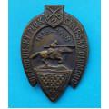 """Odznak na sponu - 2. Dragounský pluk """"Sibiřský"""" 1938 - N-61"""