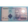 Tanzánie  1000 Shilingi b.l.