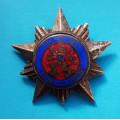 Pamětní odznak odbojové skupiny K.O.S. , číslovaný č.74