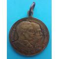 FJI - medaile Císařské manévry 1909 - Velké Meziříčí