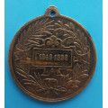 FJI. - Pamětní medaile 1848 - 1898 - 50 let vlády FJI