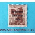 Německo Deutsche Post - Sovětská Zóna - Stadt Berlin - 10 pfennig