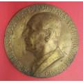 ČSR - Bronzová plaketa Dr. Edward Beneš -bronz 17 cm