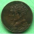Kanada 1939 - Cu medaile průměr 25 mm , 22,22 gr.,