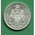 Kanada 50 cents 1960 - Ag