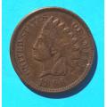 1 ( one ) cent 1896 indián - Indian Head