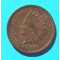 1 ( one ) cent 1897 indián - Indian Head