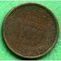 Indie - One Qurter Anna 1862 - Cu