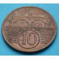 ČSR 10 haléř 1938 - CuNi
