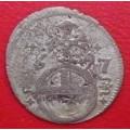 Leopold I. grešle 1697 mincovna Opolí - Ag