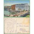 Wien - Marienbrücke - TRAMVAJ - prošlá 1918